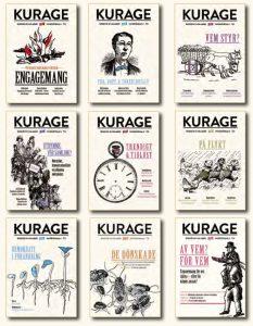 Tidigare omslag av Kurage