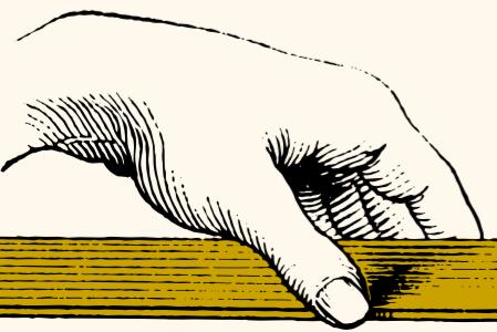 Särart, hand som håller civilsamhället förening
