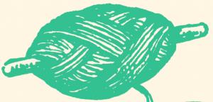 En bild på ett snöre