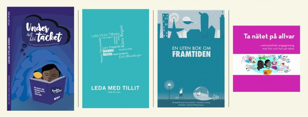 Bild om böcker vi har gjort ihop med andra organisationer